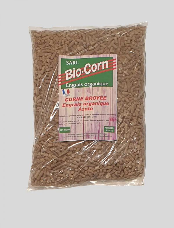 granulés engrais bio naturel riche en azote 1250g