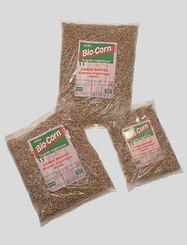 conditionnement granulés engrais naturel azoté bio corn