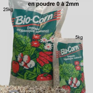 Engrais poudre 5 à 25 kg biocorn